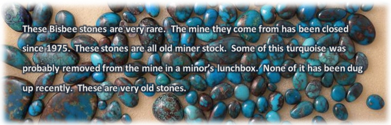 Bisbee Turquoise Selection - Rare Find!