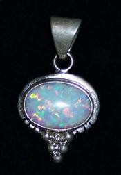 PEN14 Navajo Handmade Opal Pendant