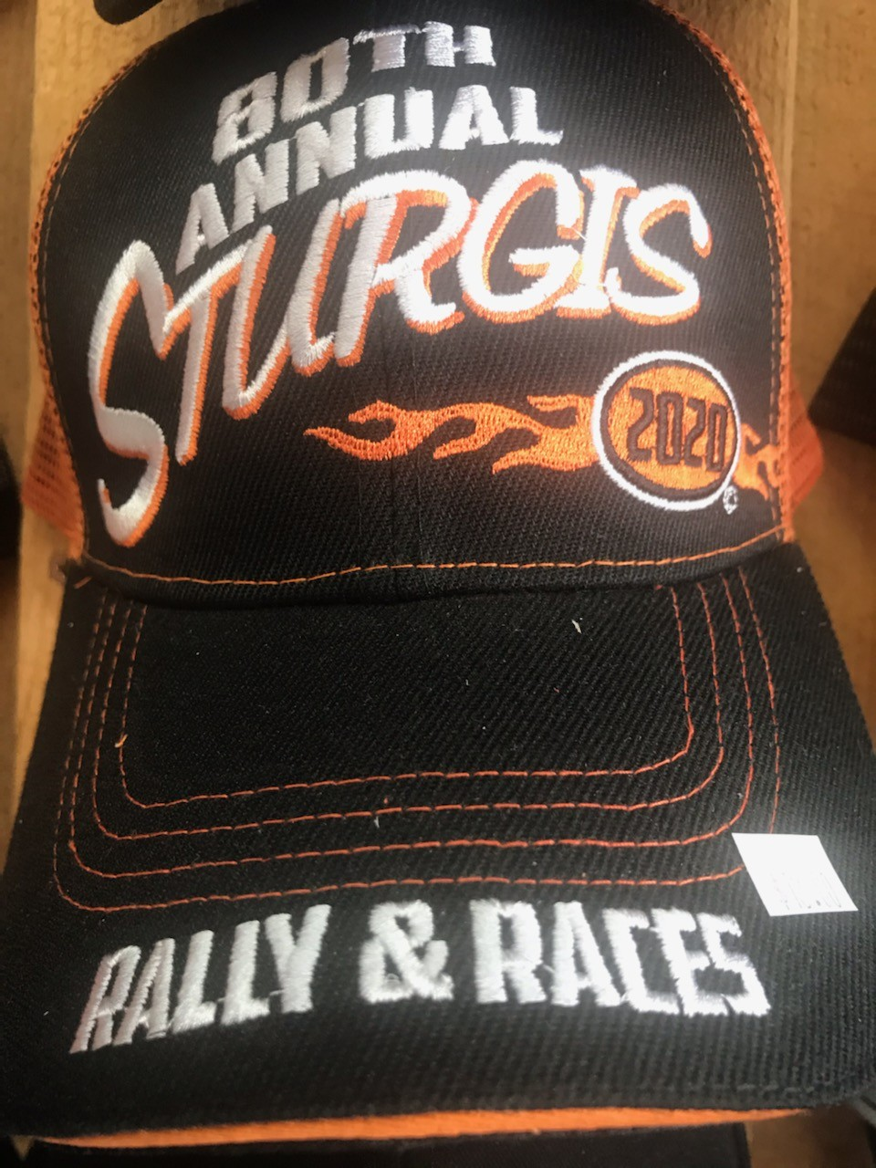 STH4- 80th Anniversary Motorcycle Rally Hat