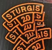 SRP9- 80th Annual Sturgis Rally Patches