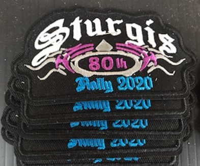 SRP10- 80th Annual Sturgis Rally Patches