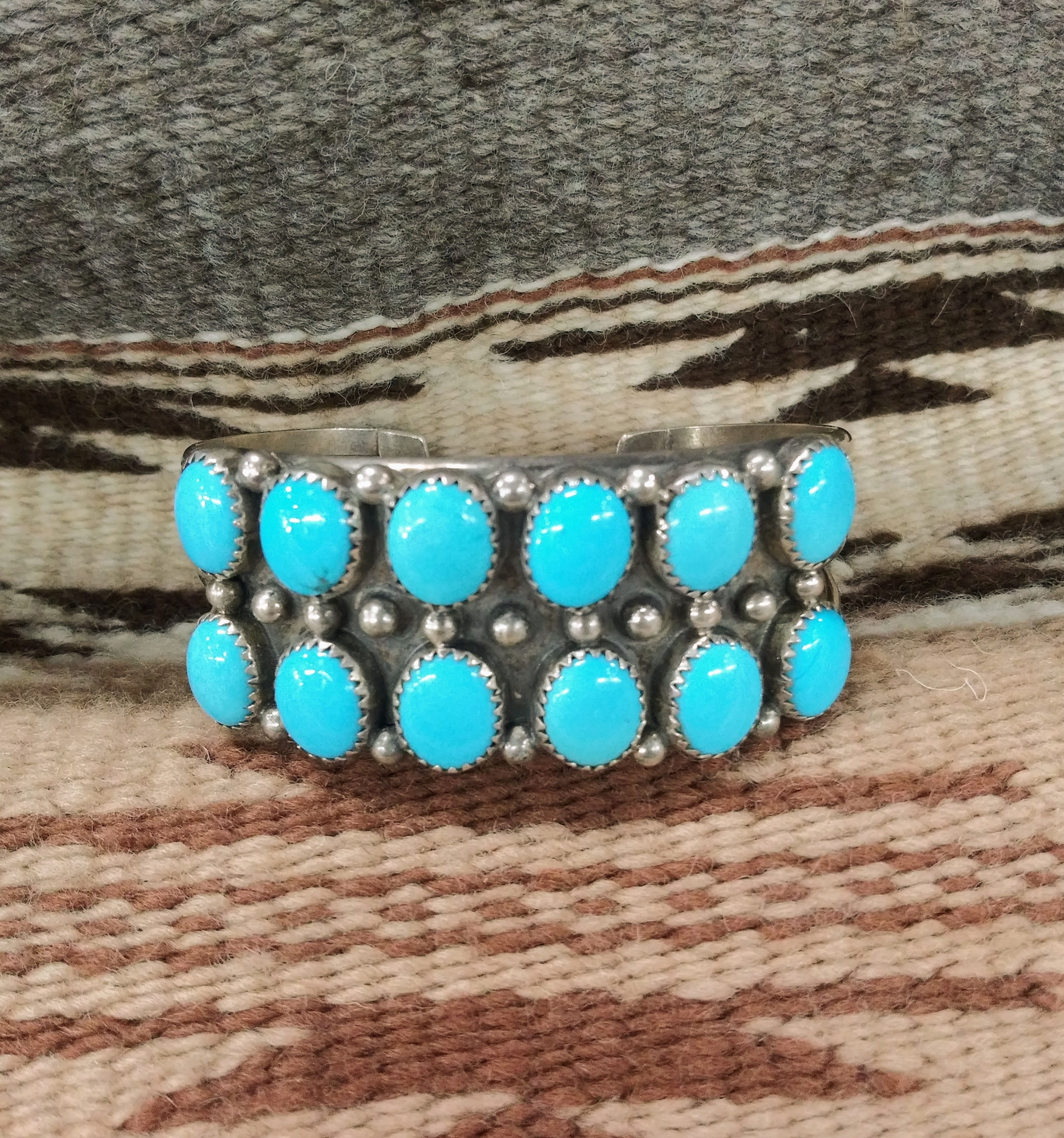 PB80- Pawn Navajo Handmade Bracelet