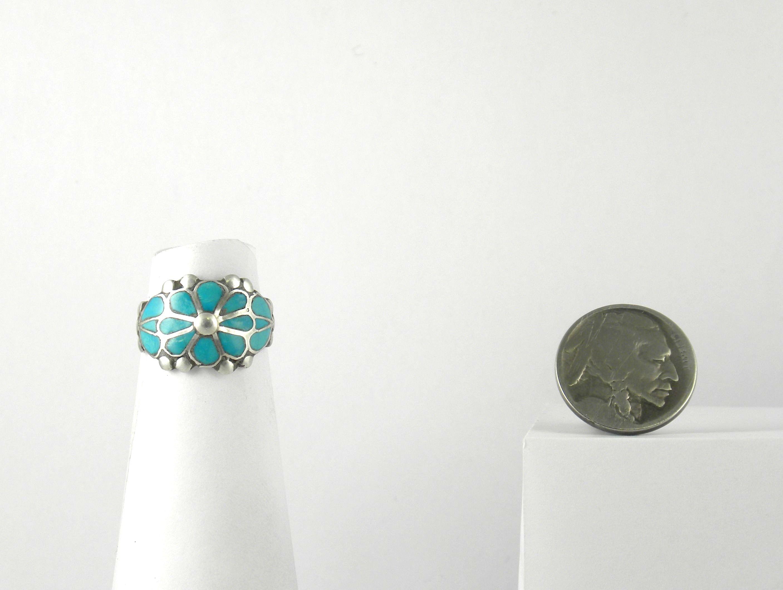RN143 Zuni Inlay Ring