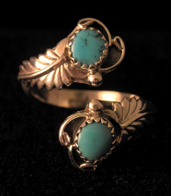 AR3 Sleeping Beauty Turquoise Adjustable Ring