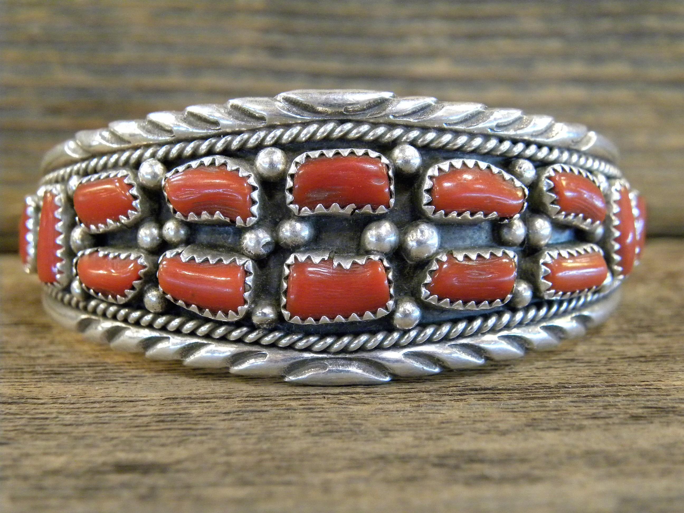 PB48 Pawn Coral Bracelet