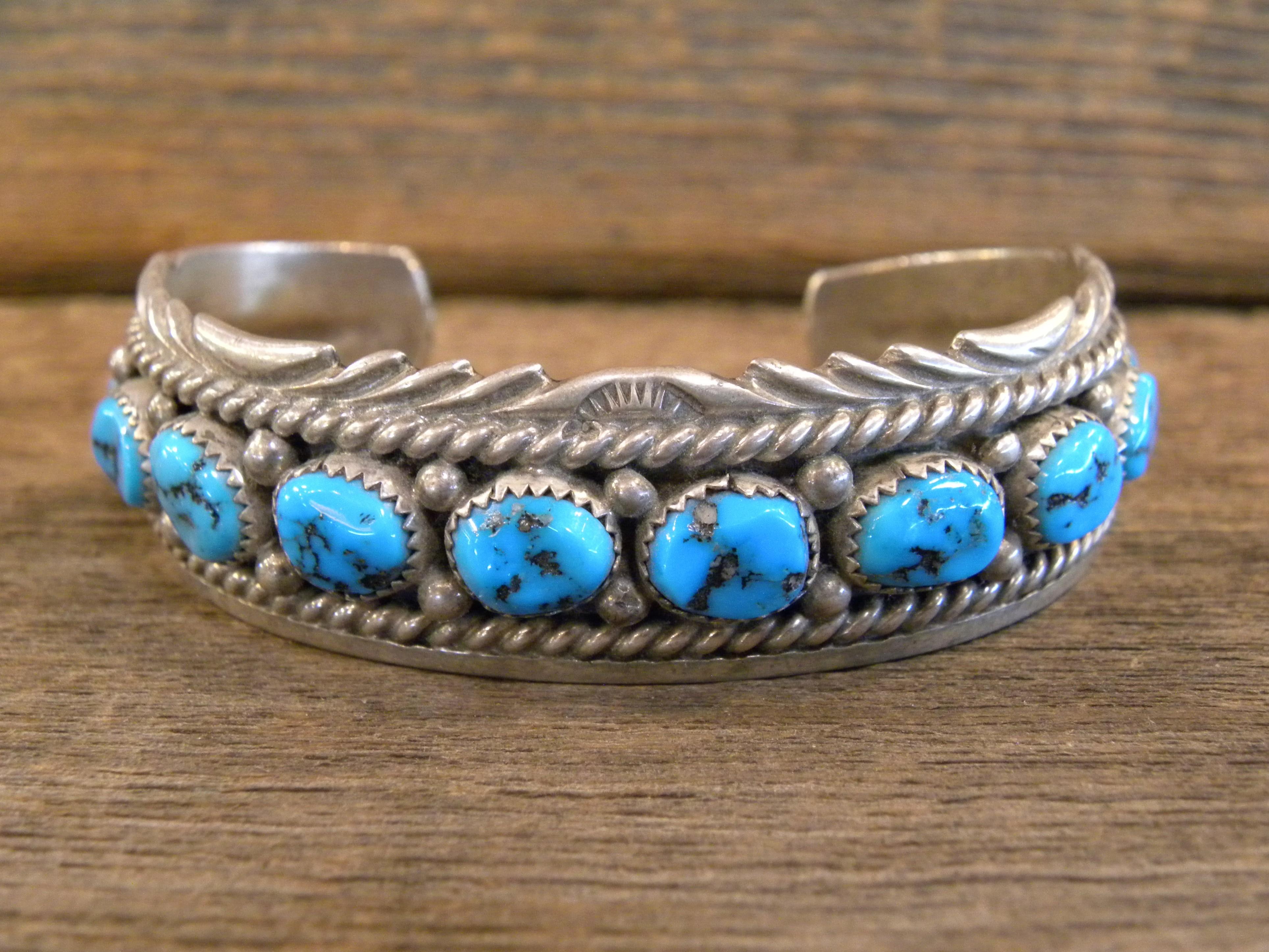 PB72 Pawn Sleeping Beauty Turquoise Bracelet