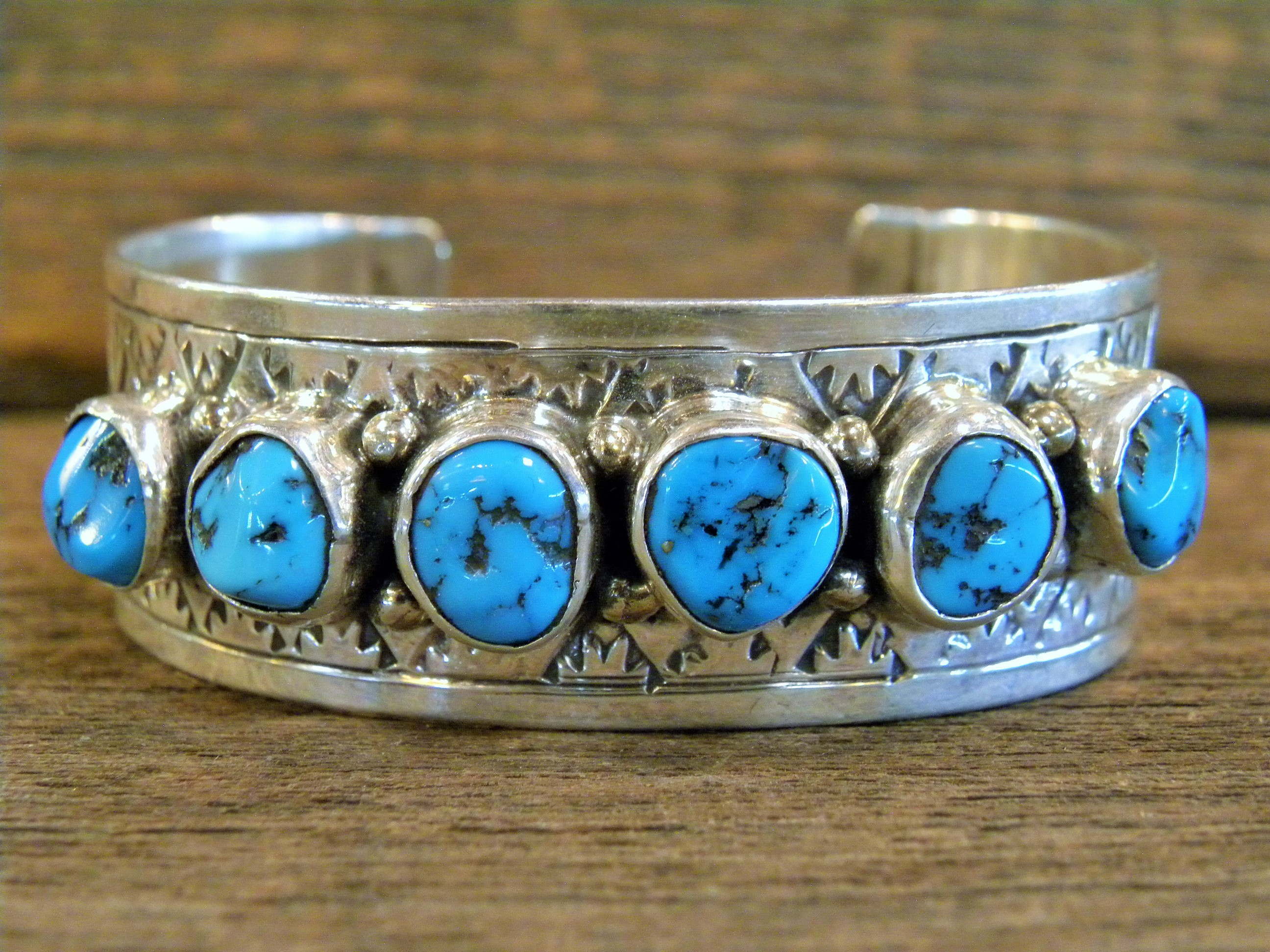 PB77 Pawn Sleeping Beauty Turquoise Bracelet