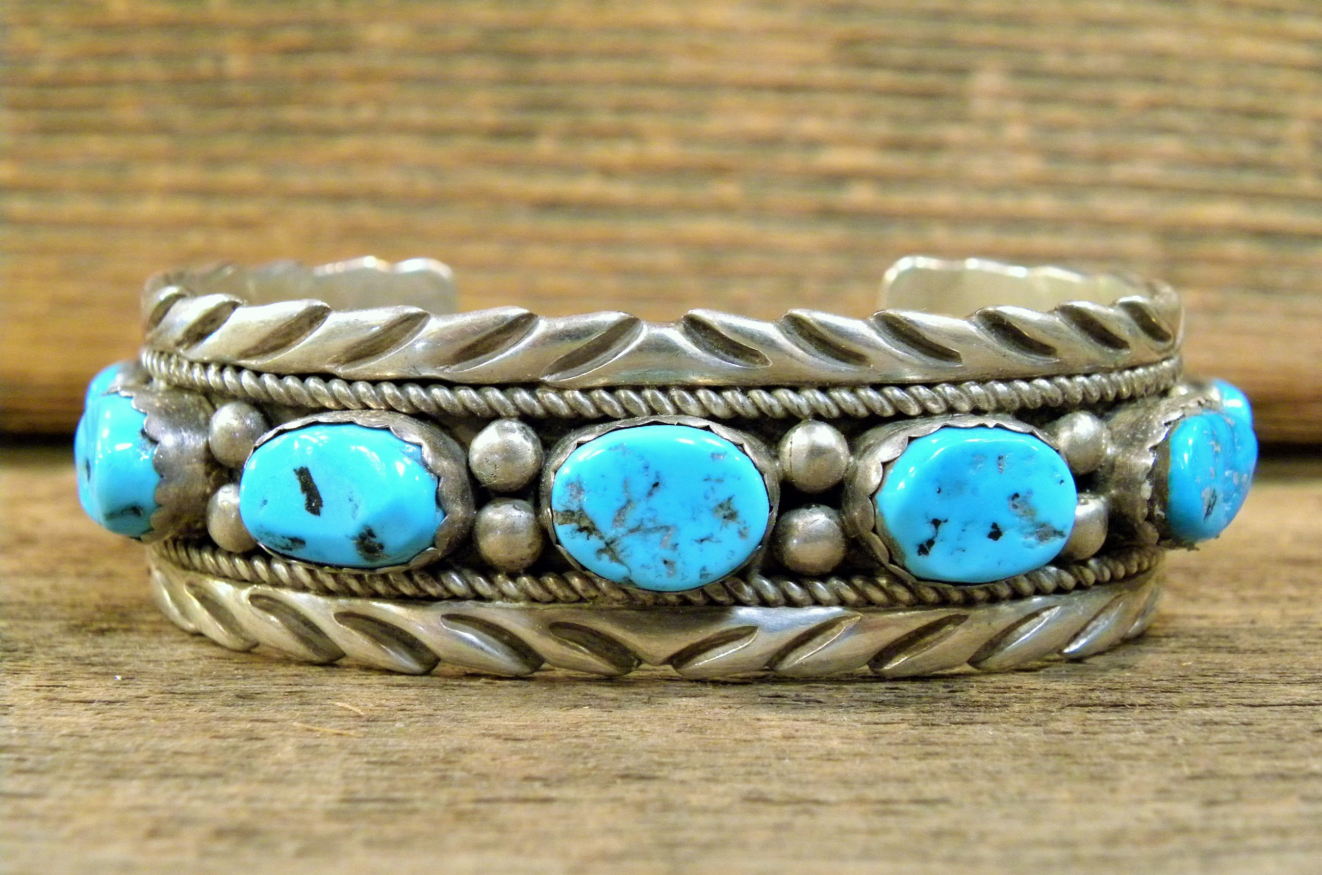 PB90 Pawn Bracelet with Sleeping Beauty Turquoise