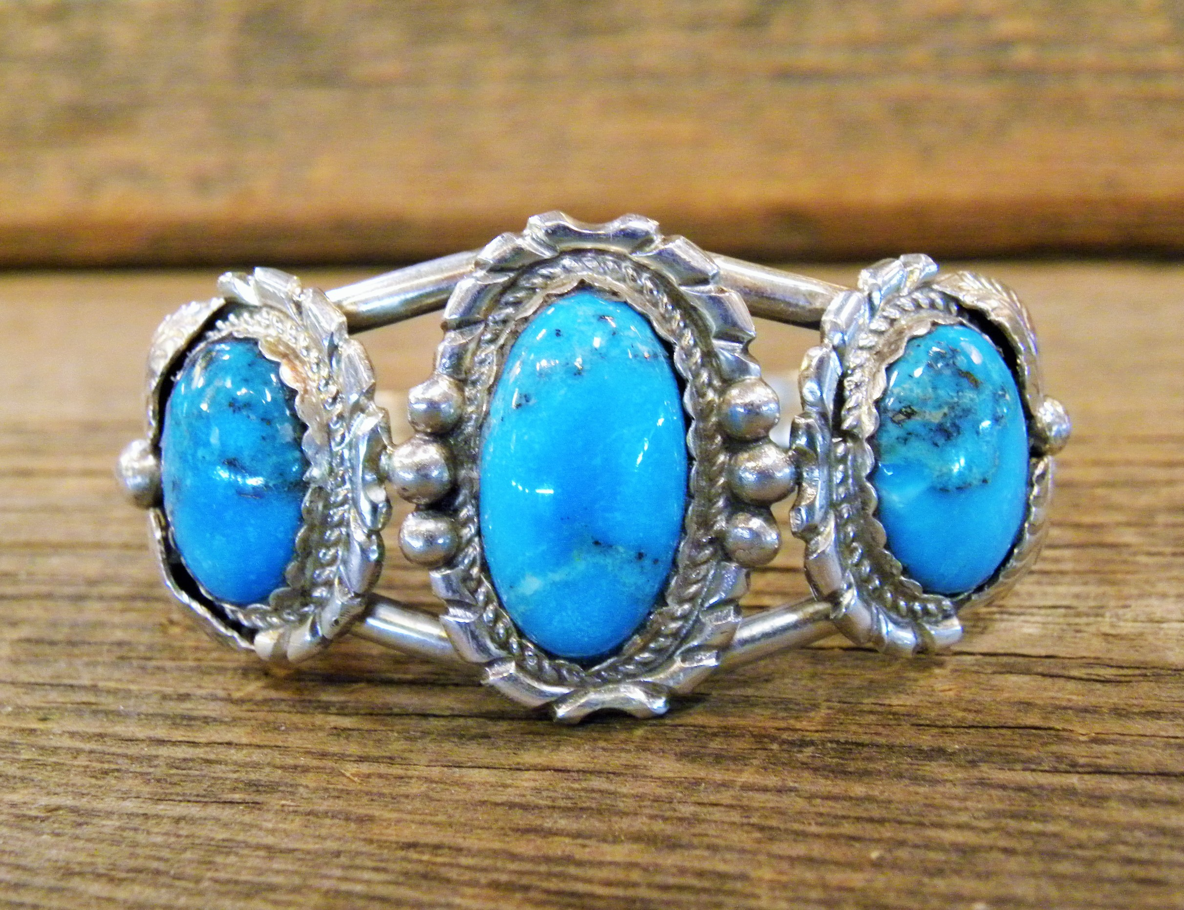 MLAB17 Monroe & Lillie Ashley Kingman Turquoise Bracelet