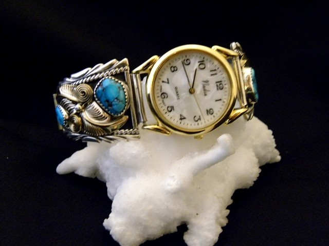 WT2 Men's Sleeping Beauty Turquoise Watch
