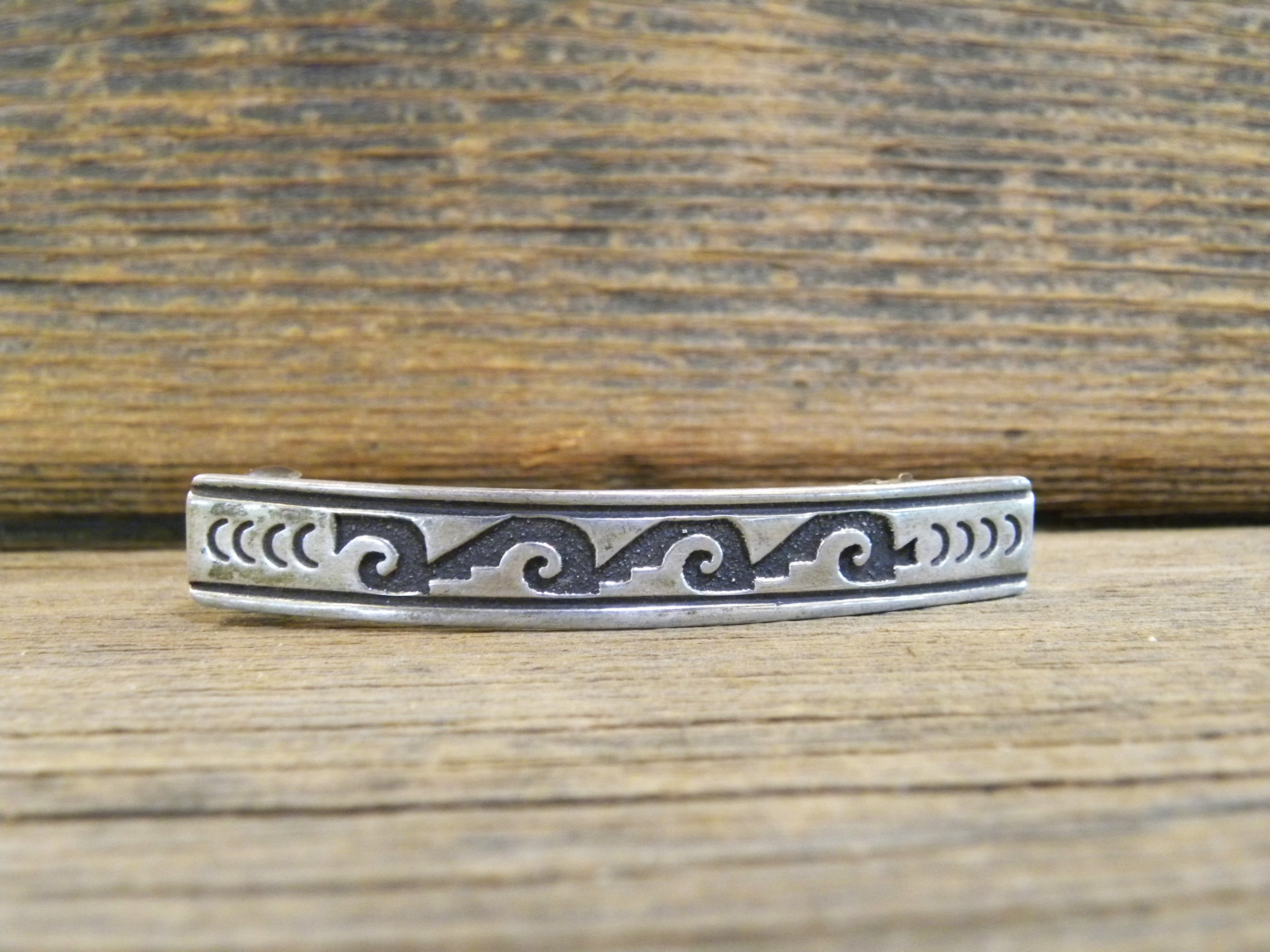 HC4- Sterling Silver Tommy Singer Hair Clip