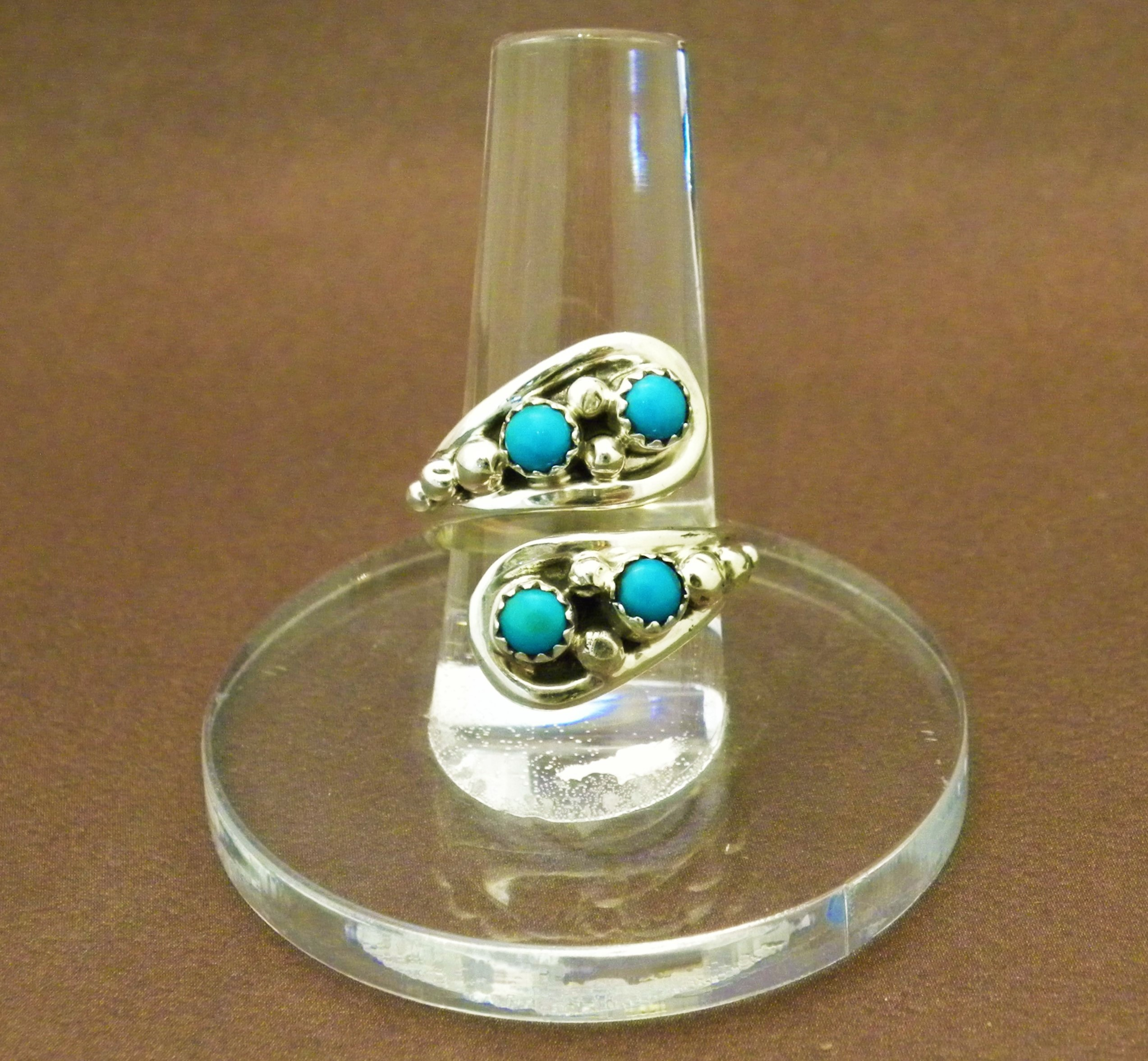 R14- Adjustable Navajo Turquoise Ring