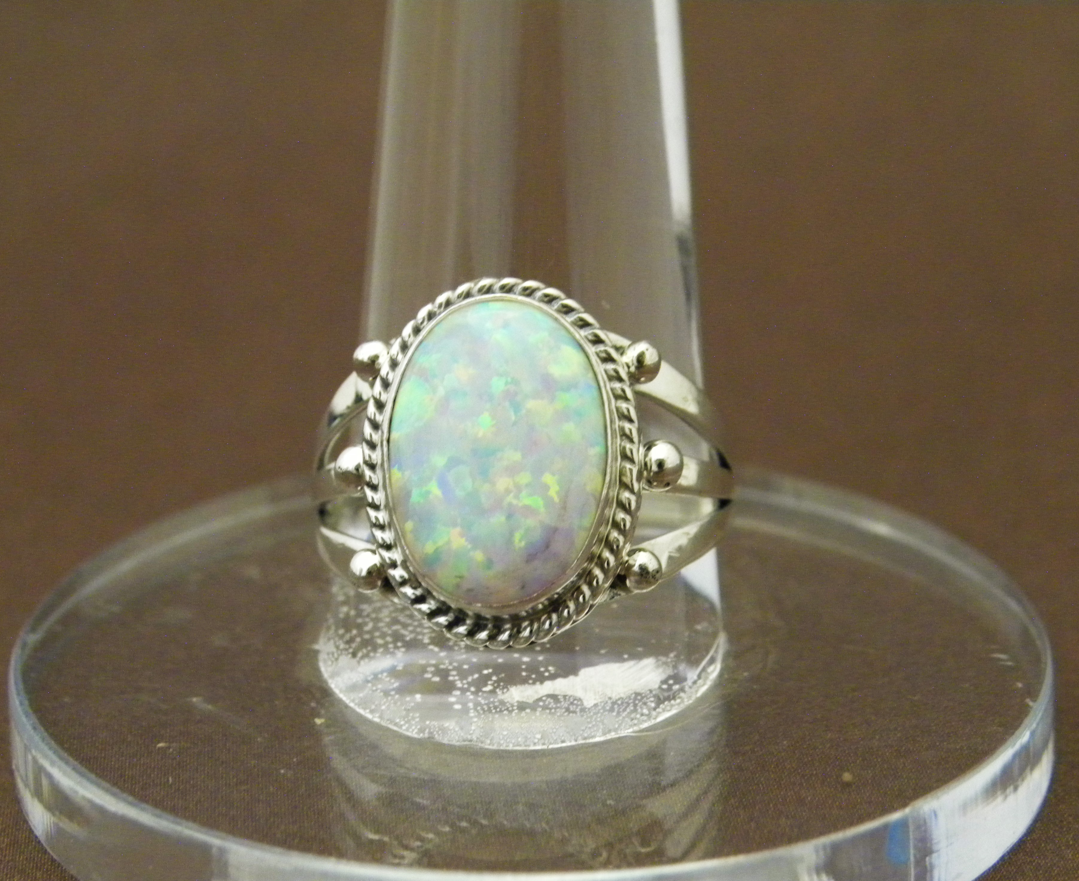 R11- Navajo Opal Ring