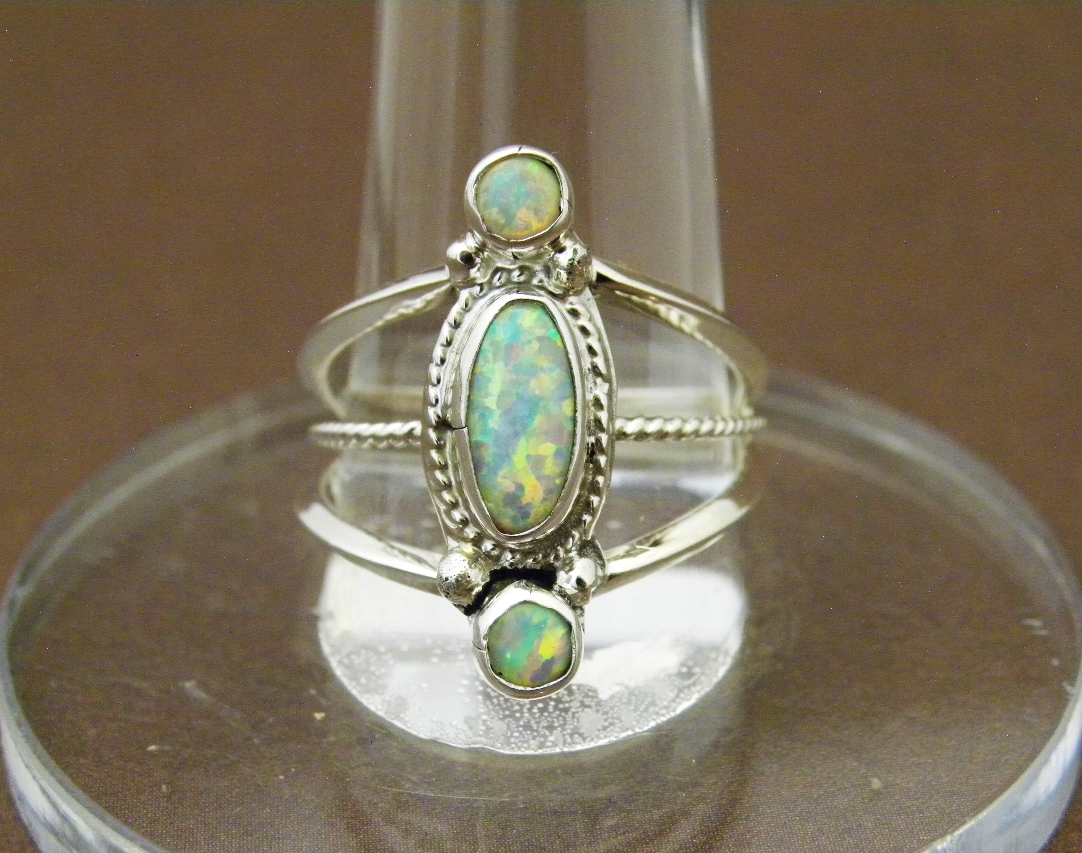 R10- Navajo Opal Ring