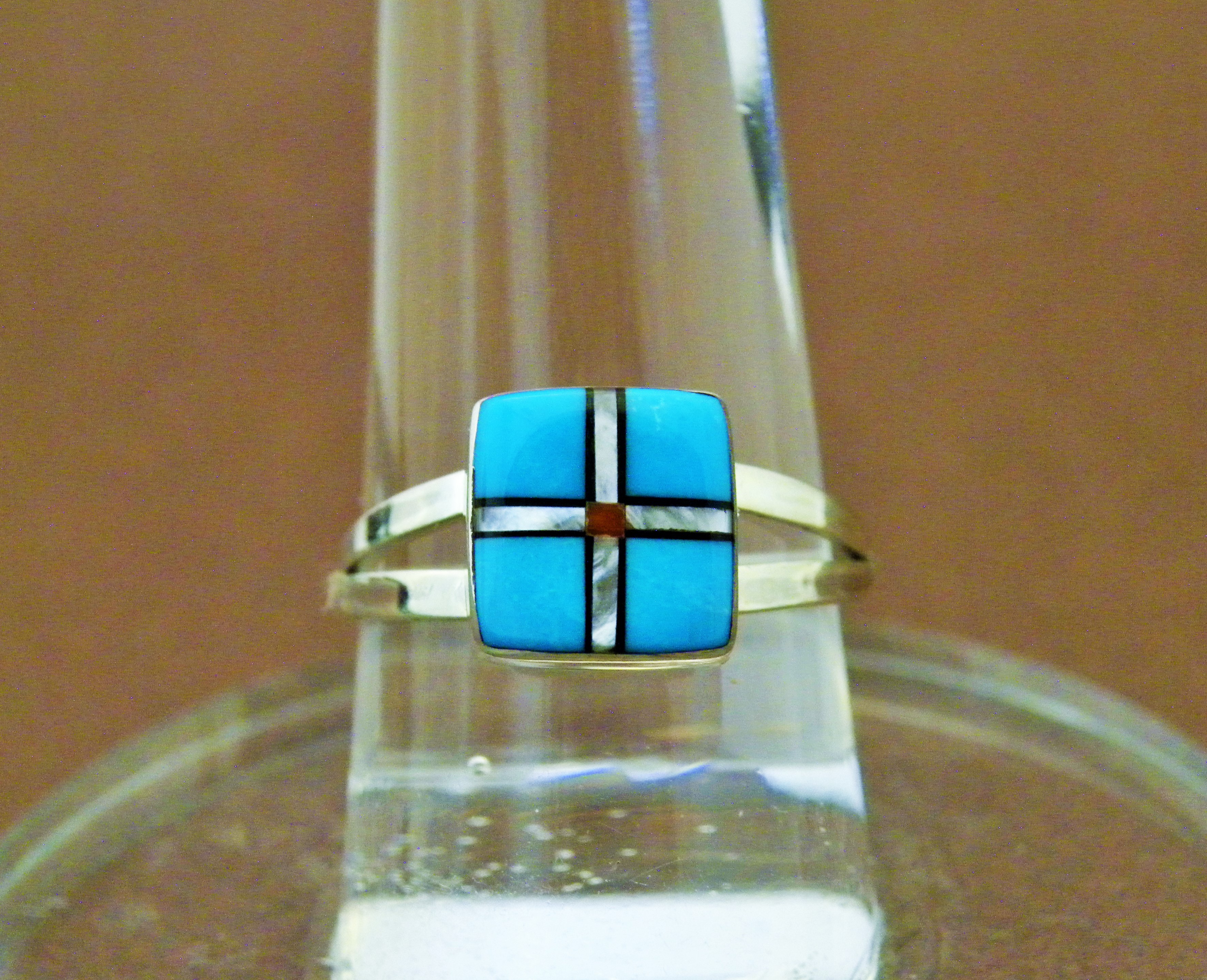 R8- Zuni Inlay Ring