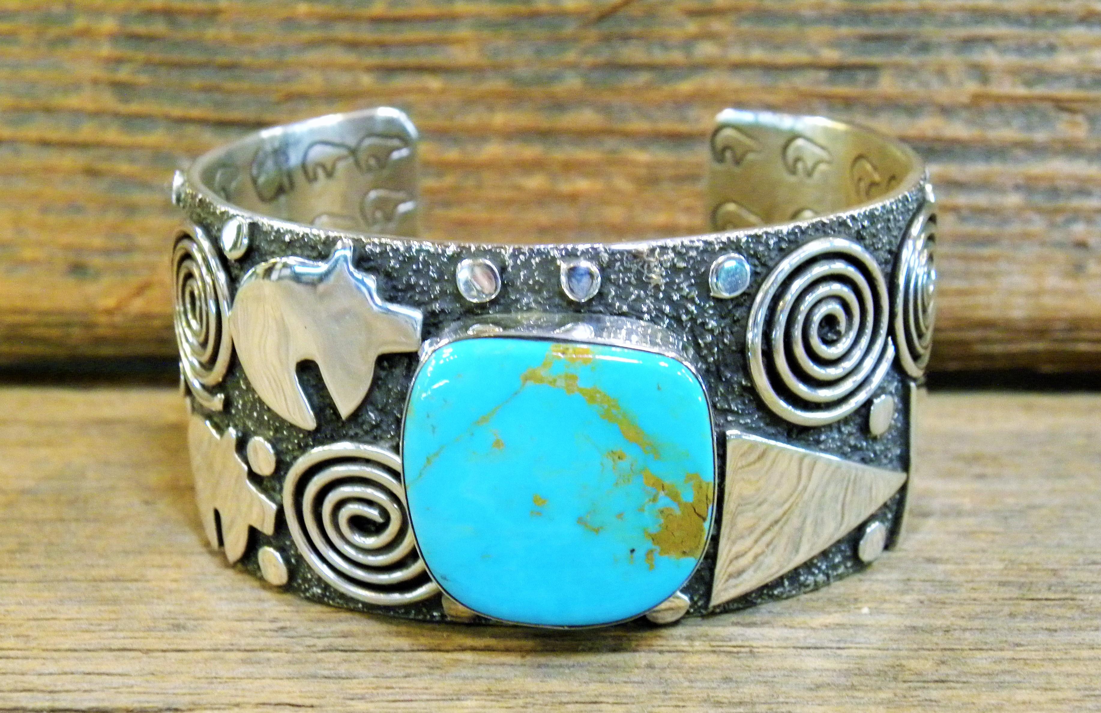 ASB6- Alex Sanchez Turquoise Bracelet