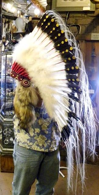 HD2- Navajo Handmade Head Dress
