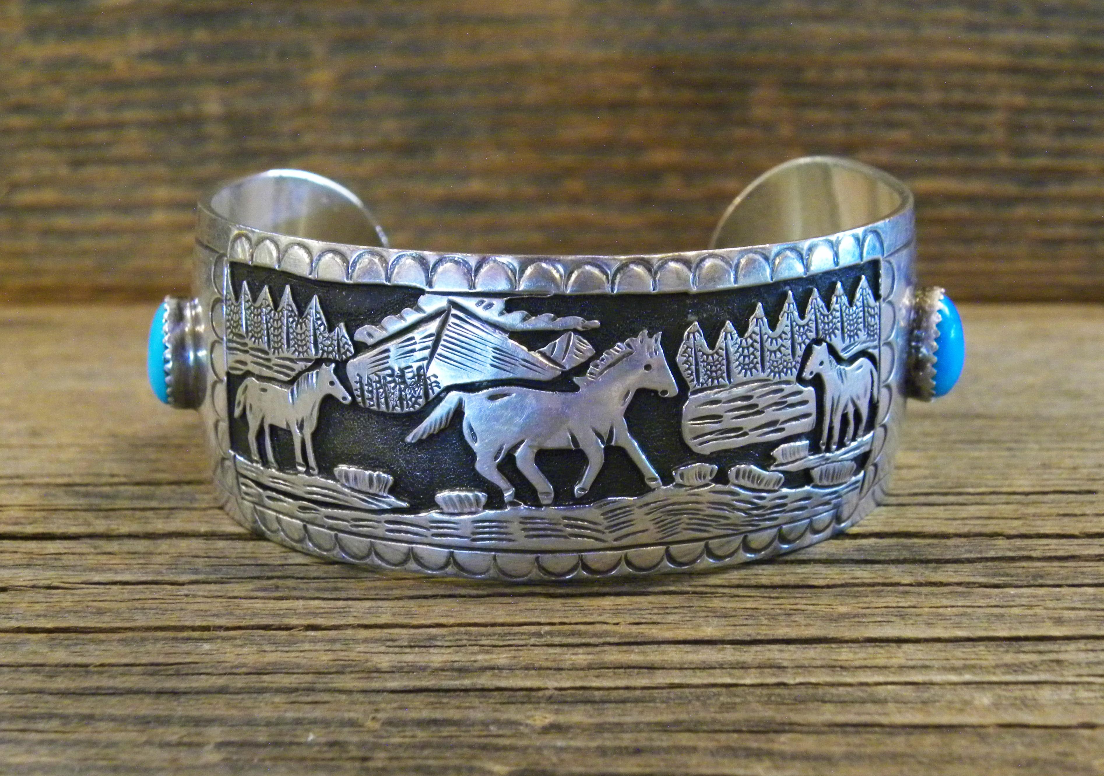 PB73- Pawn Storyteller Design Bracelet