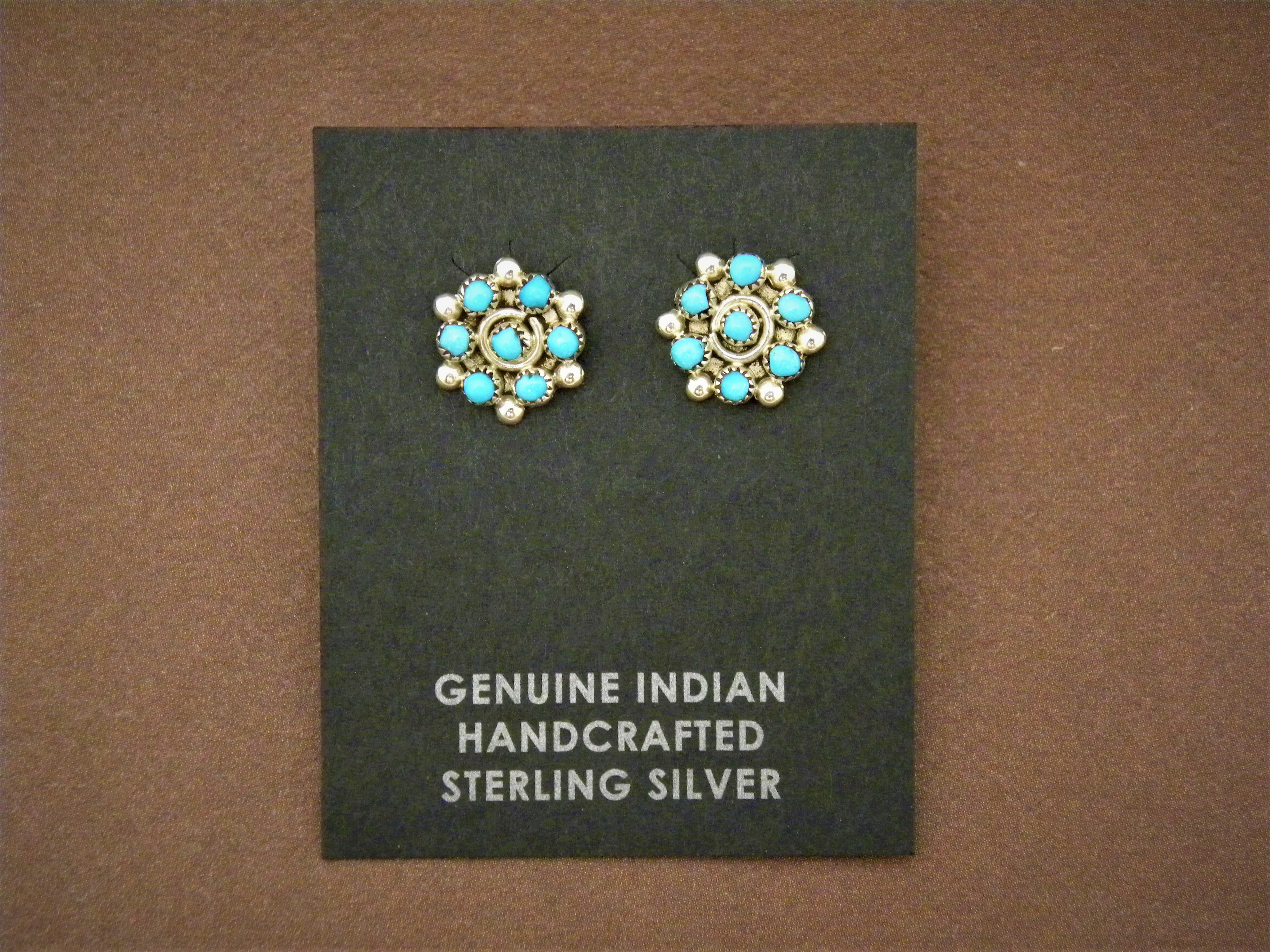 ER4-Zuni Flower Earrings