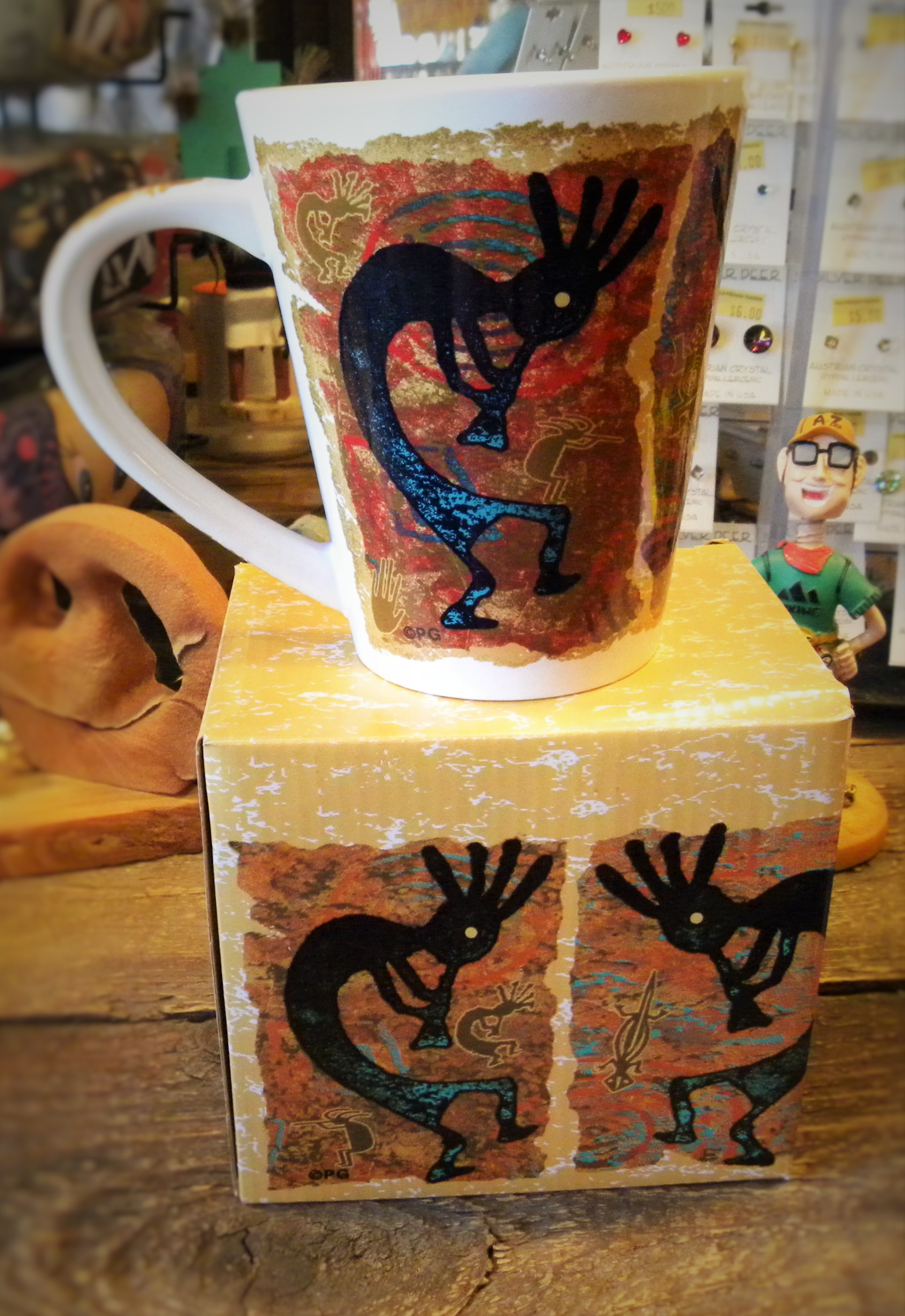 CM1- Kokopelli Coffee Cup