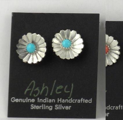 ER203 Monroe & Lillie Ashley Flower Earrings