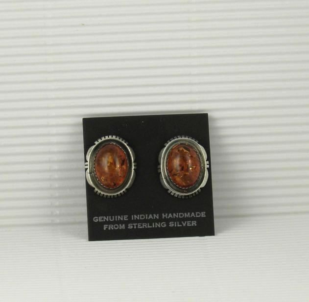ERN75 Amber Earrings