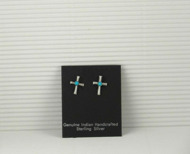 ERN94 Cross Earrings