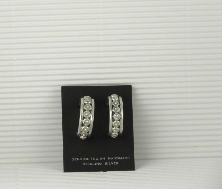 ERN101 Monroe and Lillie Ashley Hoop Earrings