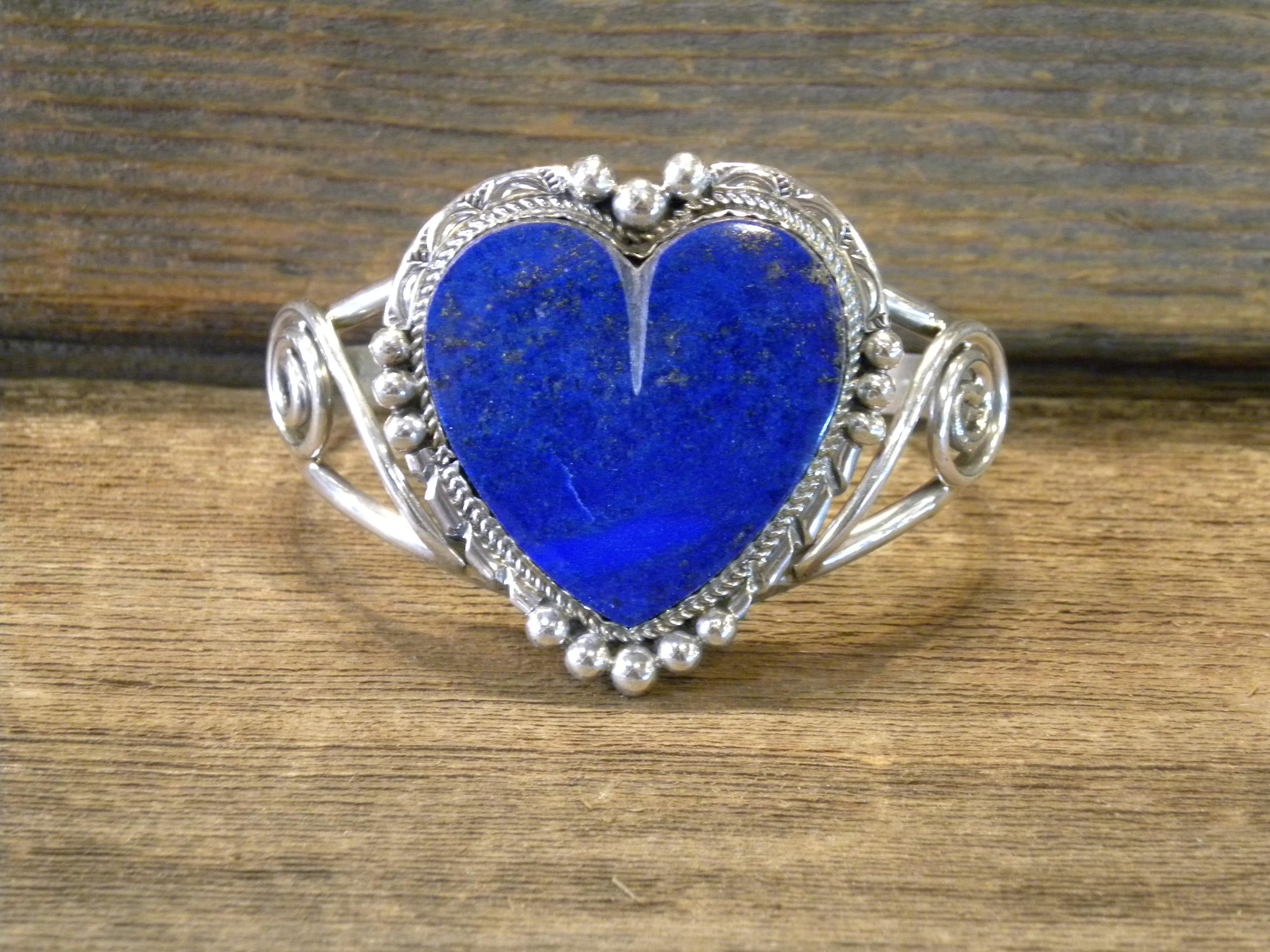 MLAB2 Monroe & Lillie Ashley Lapis Heart Bracelet
