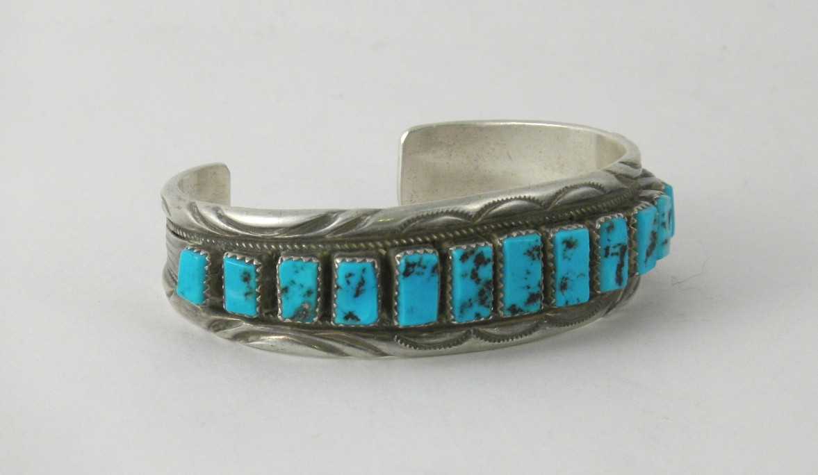 BPN79 Pawn Sleeping Beauty Turquoise Bracelet