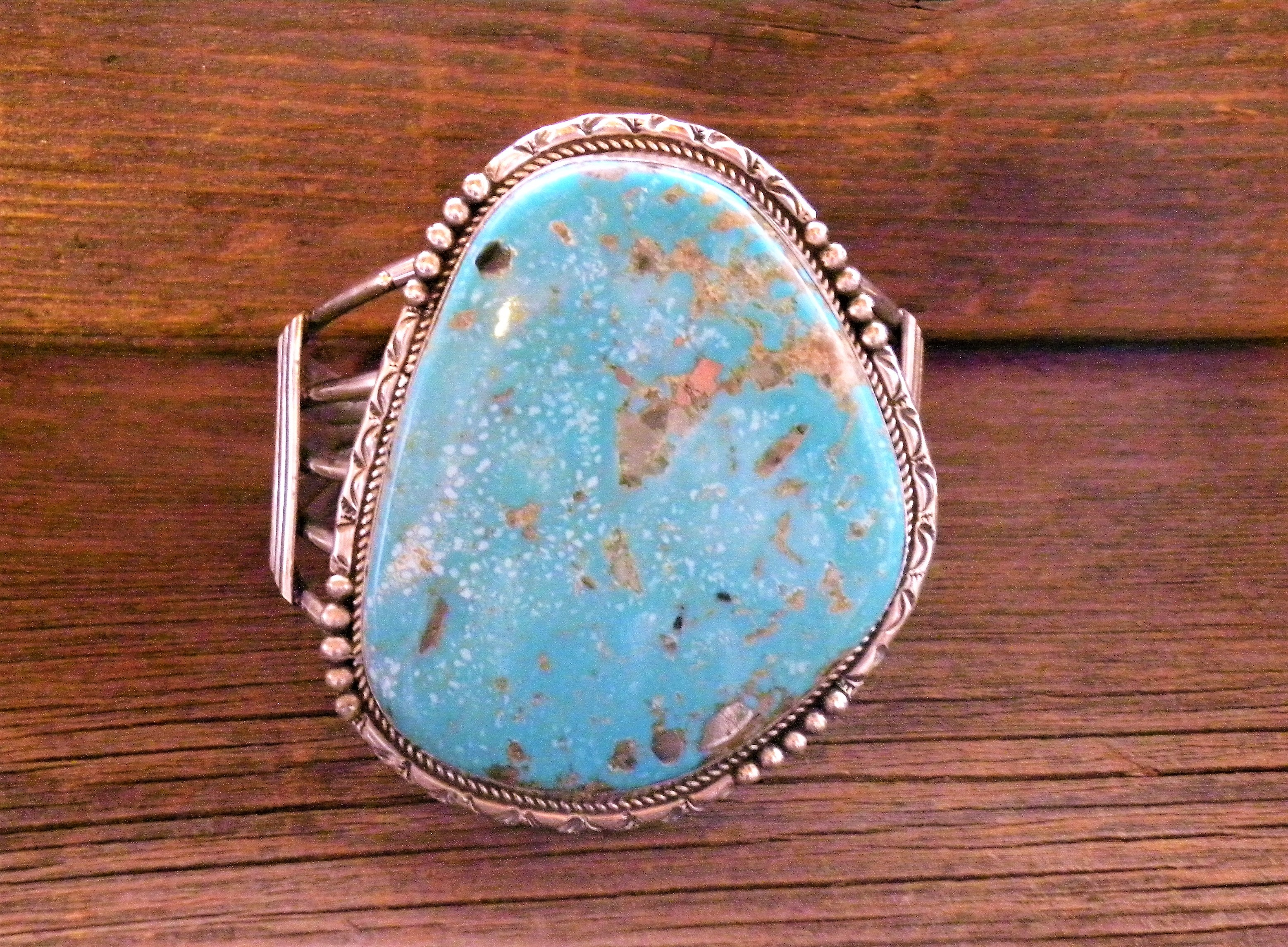 MLAB1 Monroe & Lillie Ashley Large Turquoise Bracelet