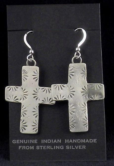 ERN13 Monroe & Lillie Ashley Cross Earrings