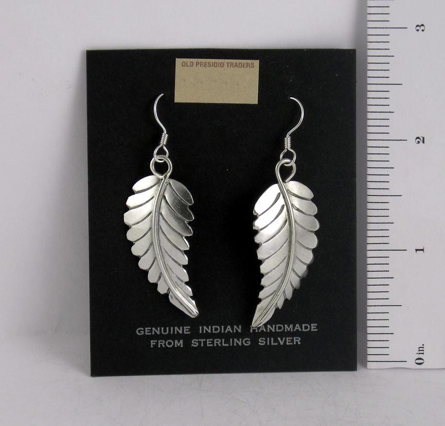 ERN32 Monroe & Lillie Ashely Leaf Earrings