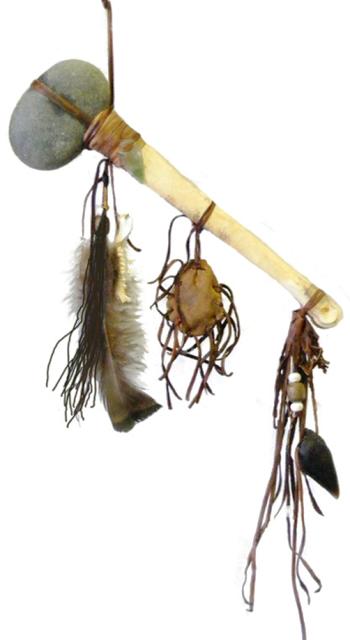 ABT1- Navajo Handmade Bone Tomahawk