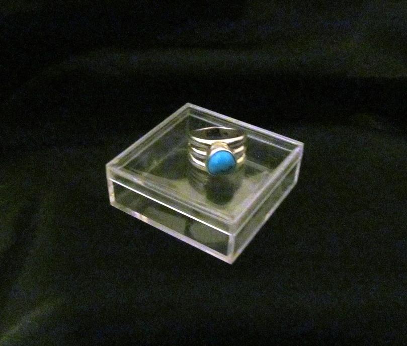 ATR4 Alvin Thompson Turquoise Ring