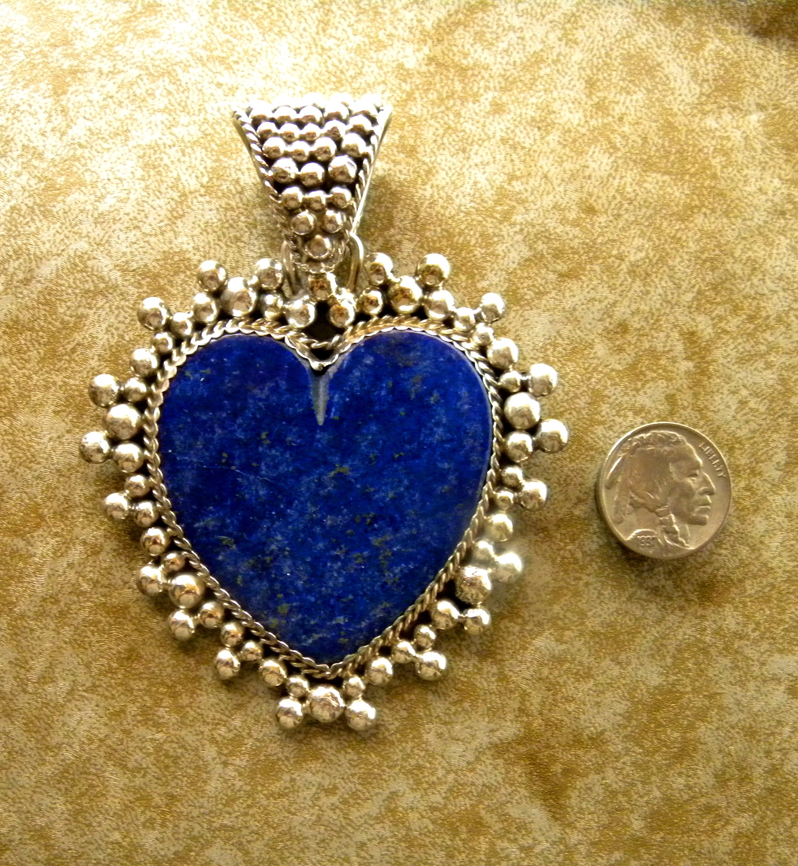 MLHP2 Monroe & Lillie Heart Pendant