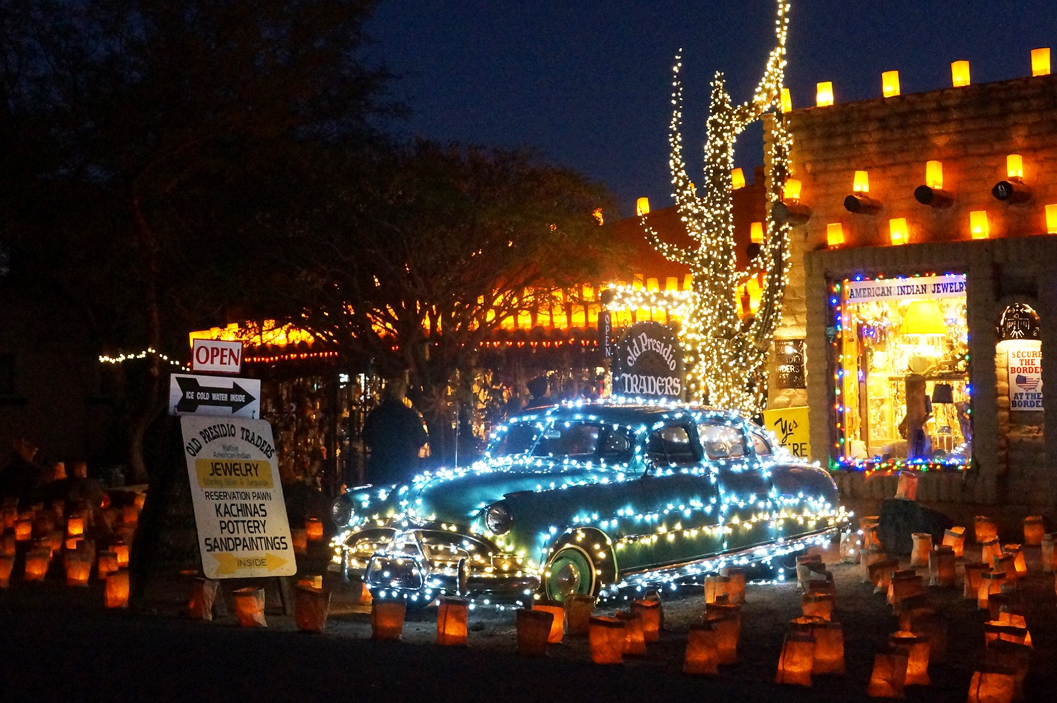 Dec. 2nd & 3rd, 2016 Luminaria Nights in Tubac