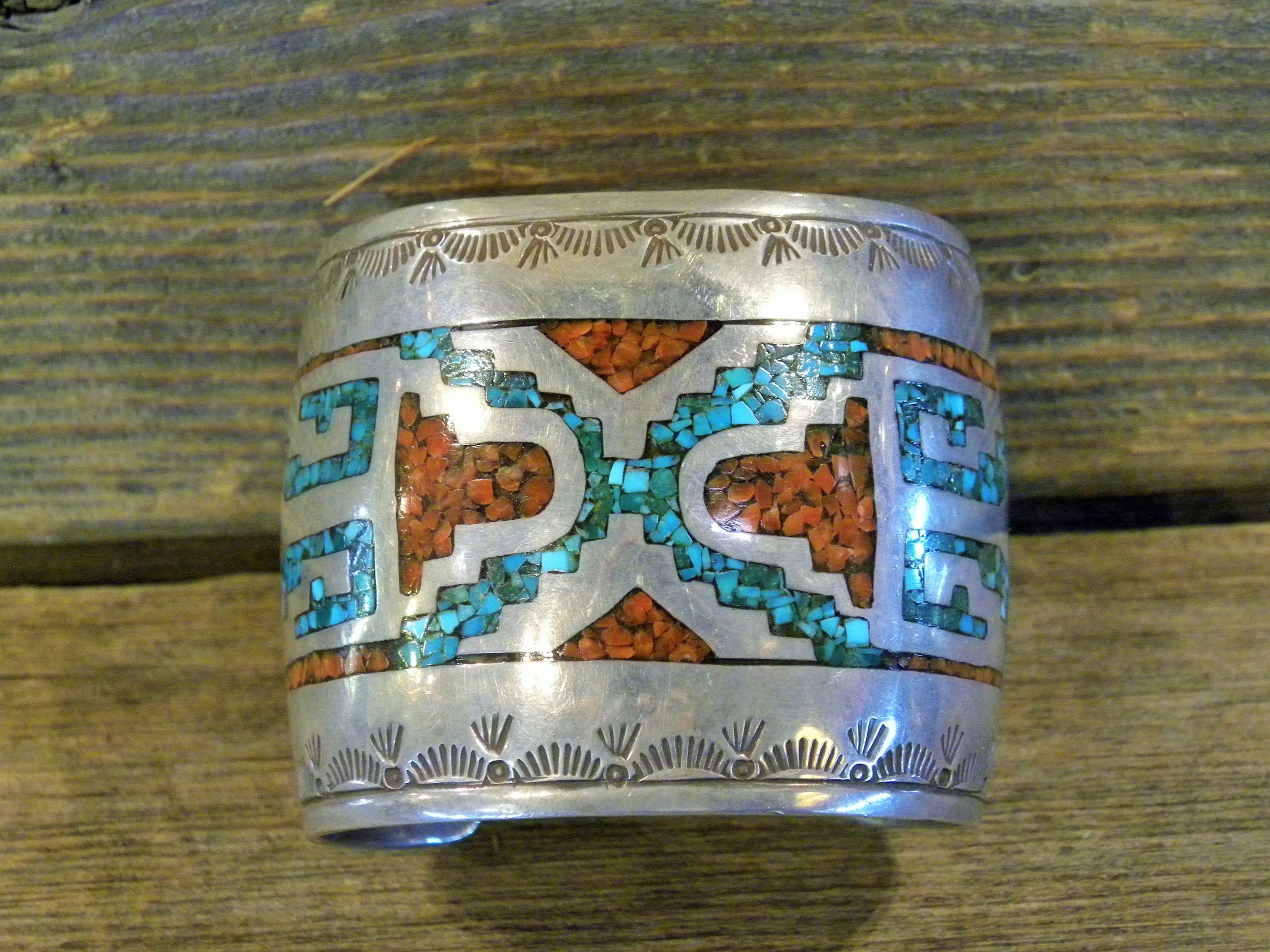 PB5 Pawn Chip Inlay Bracelet