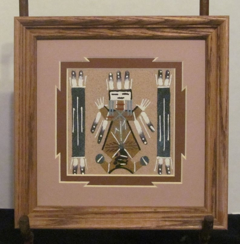 Authentic Navajo Sandpainting NSP8
