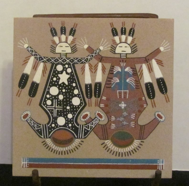 Authentic Navajo Sandpainting NSP6