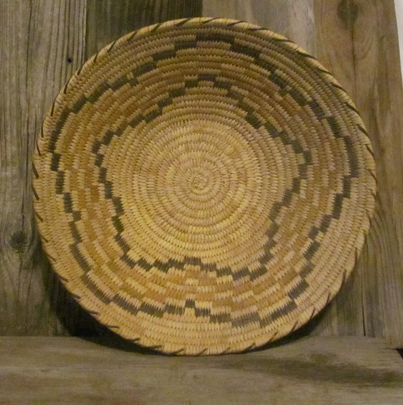 Tohono O'odham (Papago) Indians Handmade Basket ONB18