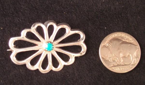 P6 Navajo Handmade Pin