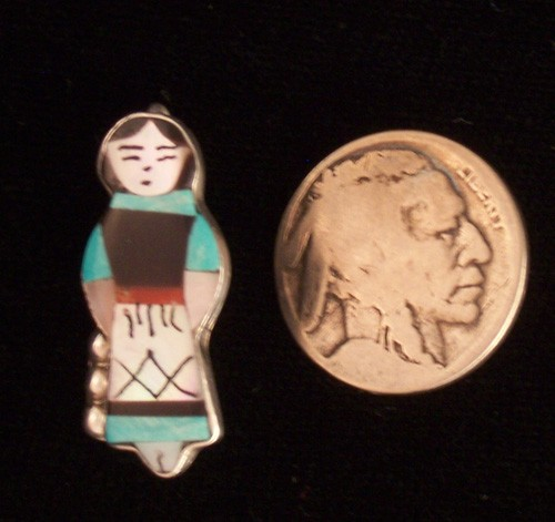 PEN15 Zuni Inlay Pin/Pendant