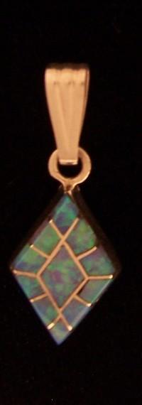 PEN21 Zuni Opal Pendant