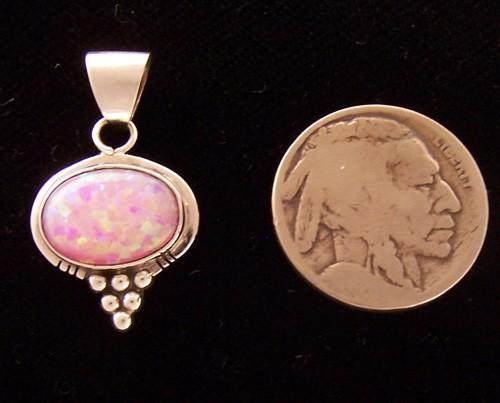 PEN22 Navajo Handmade Opal Pendant