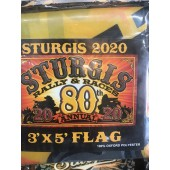 SRF5- 80th Annual Sturgis Rally Flag
