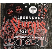 SS1- 80th Annual Sturgis Rally Stickers