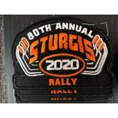 SRP4- 80th Annual Sturgis Rally Patches