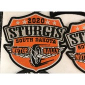 SRP6- 80th Annual Sturgis Rally Patches