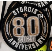 SRP7- 80th Annual Sturgis Rally Patches